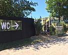 WWF's vandbesparende og yderst rene toiletter er meget populære på Roskilde Festivalen.