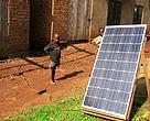 Solceller i Uganda