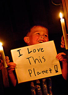Earth Hour / ©: Jeremiah Armstrong / WWF-Canada