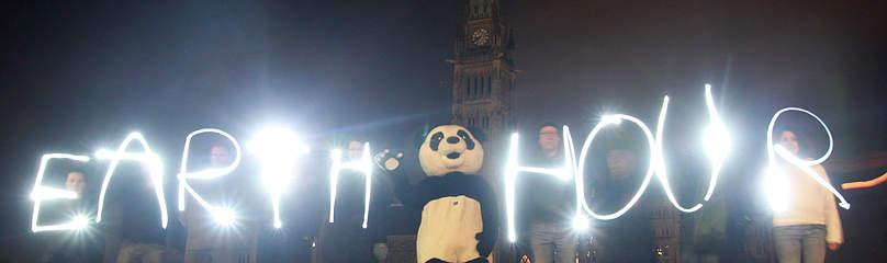 Earth Hour Klima / ©: Patrick Doyle / WWF-Canada