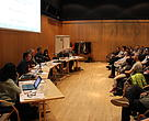Borgermøde om borgerinddragelse arrangeret af WWF og ICC i Nuuk, april 2014.