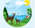 Velgørenhedsfrimærke 2015  - WWF/Postnord