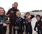 WWF's snorkleevents er bestemt også for børn.