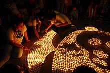 Earth Hour Klima / ©: WWF/Fabián Caballero